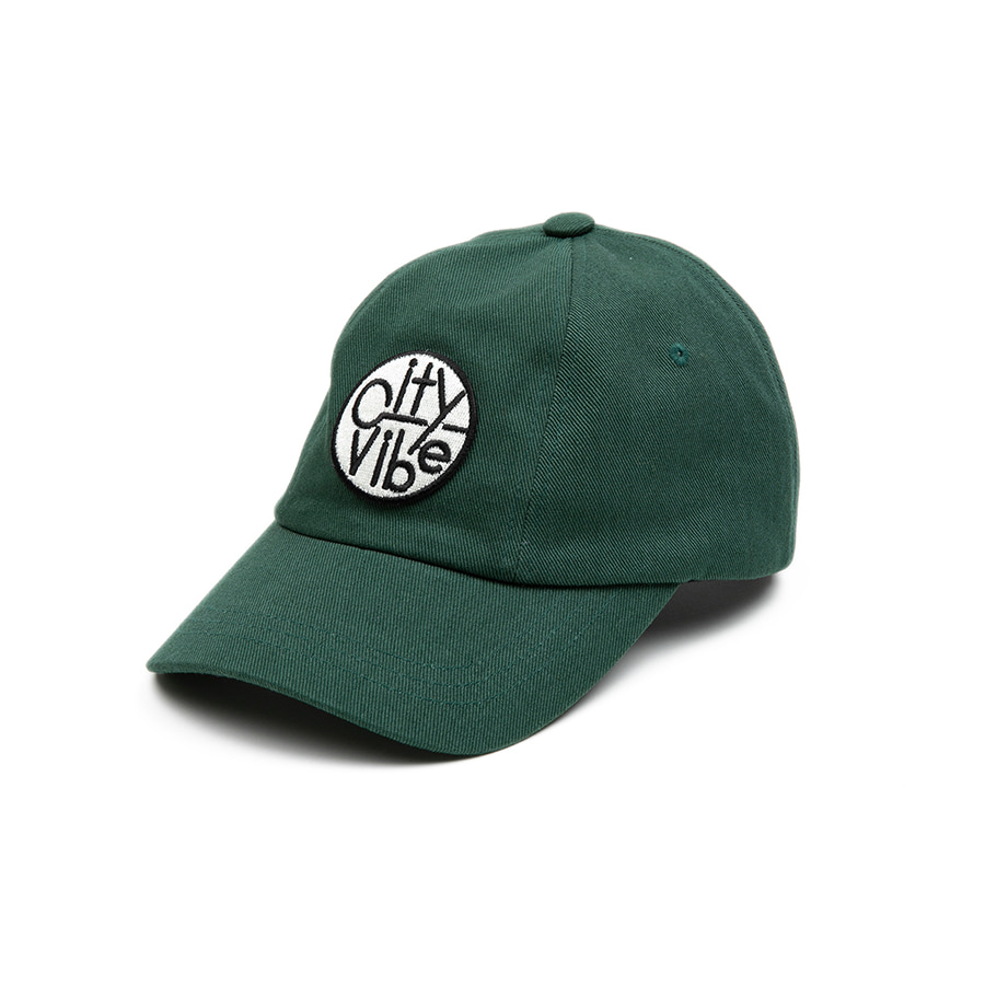 City Vibe Ball Cap Green