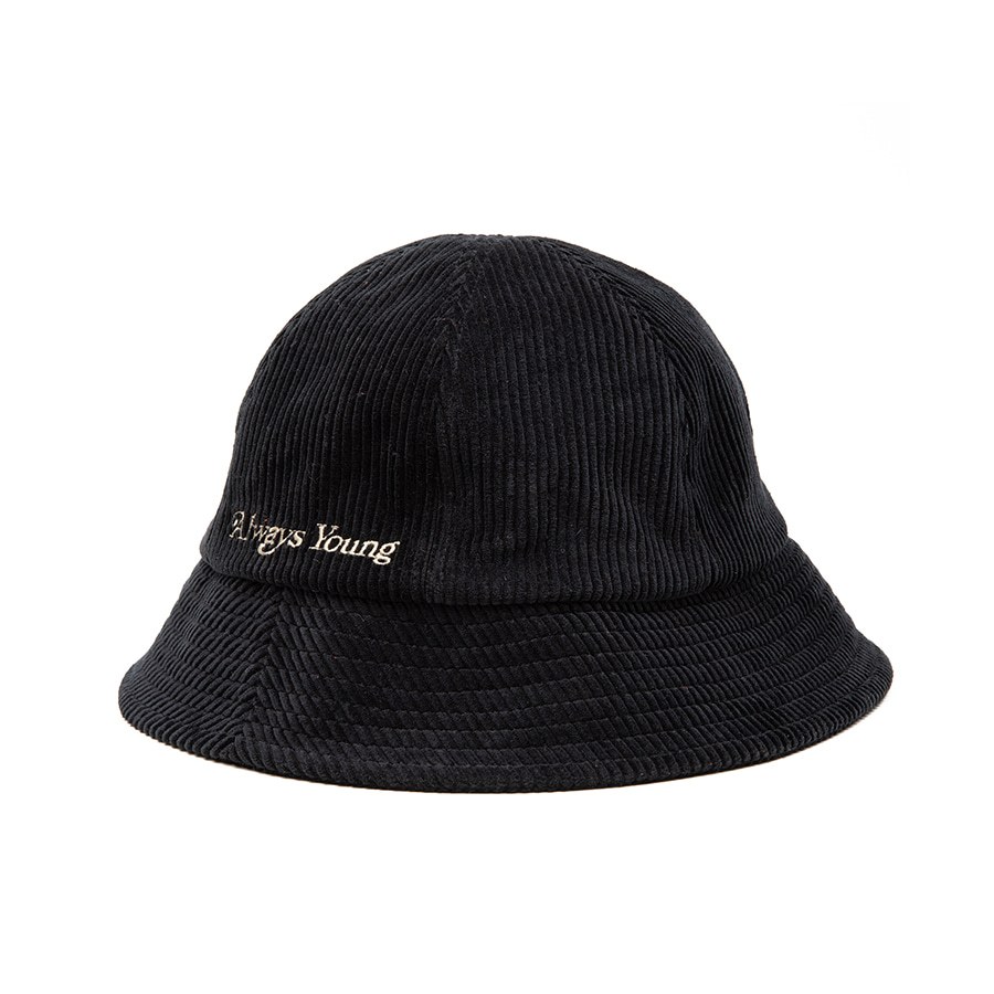 Coduroy Bucket Hat Black
