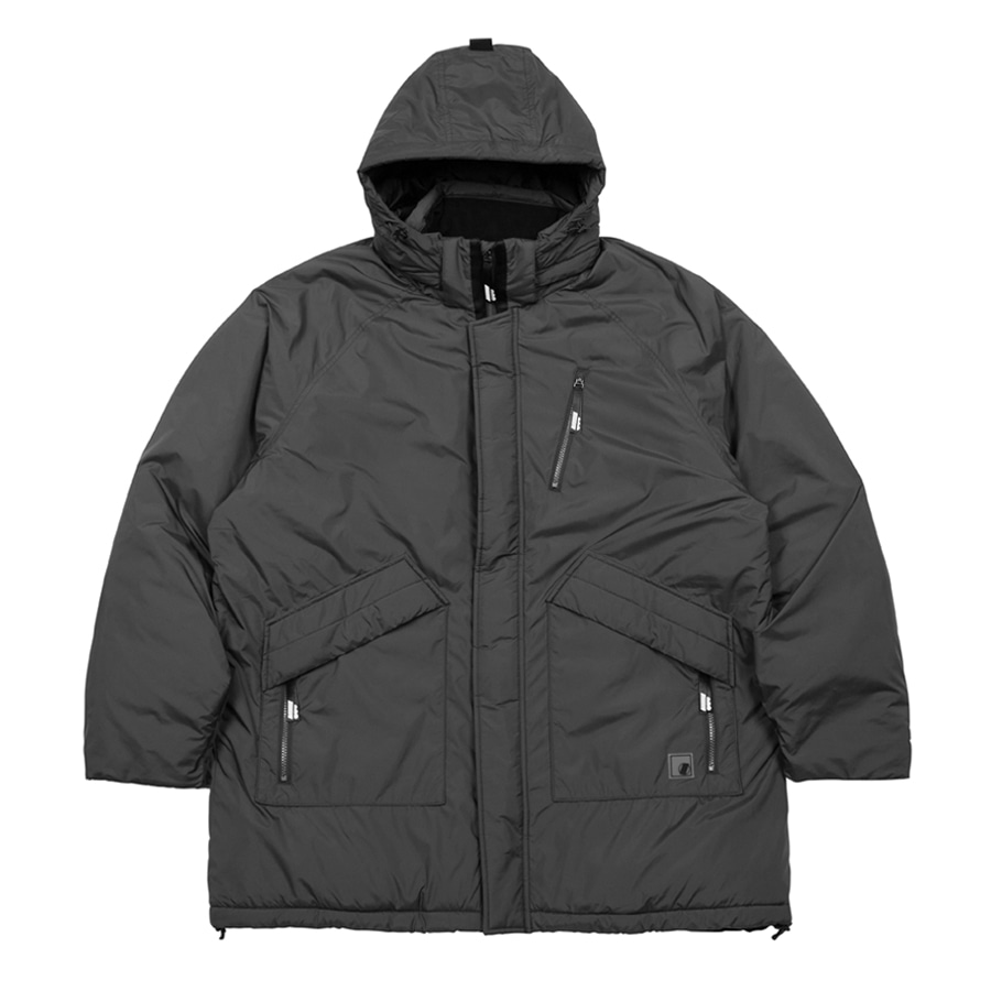 Hooded Mid Padding Jacket GYL