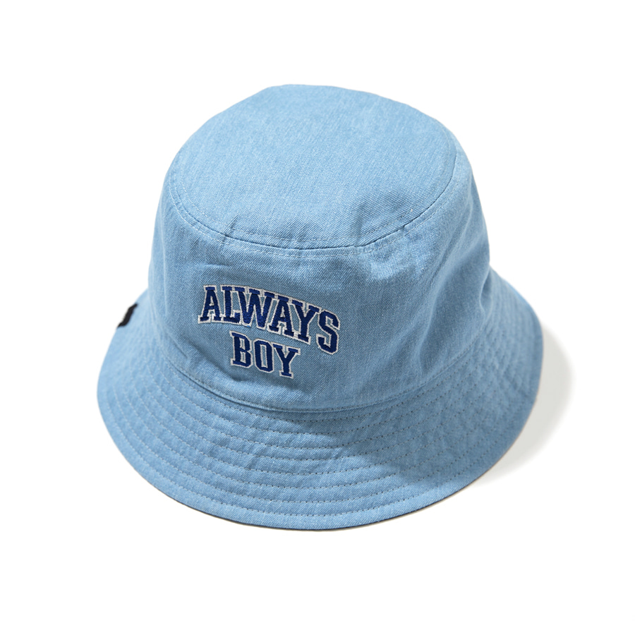 Always Boy Reversible Bucket Hat Black
