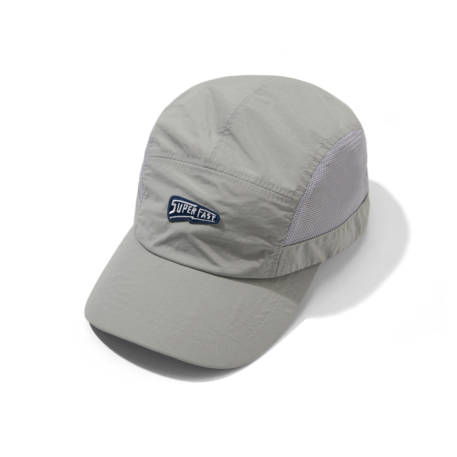 Super Fast Camp Cap Light Gray