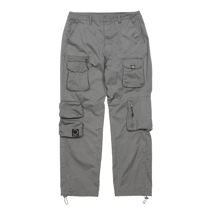 Utility Pocket Pants Gray