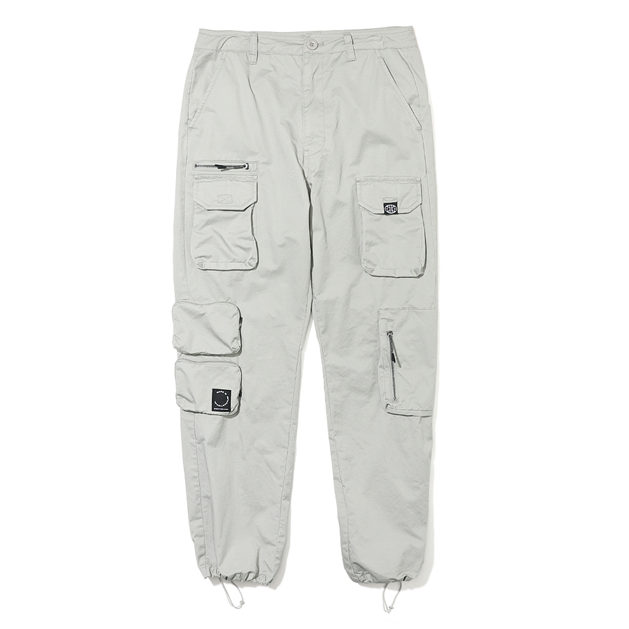 Utility Pocket Pants Beige