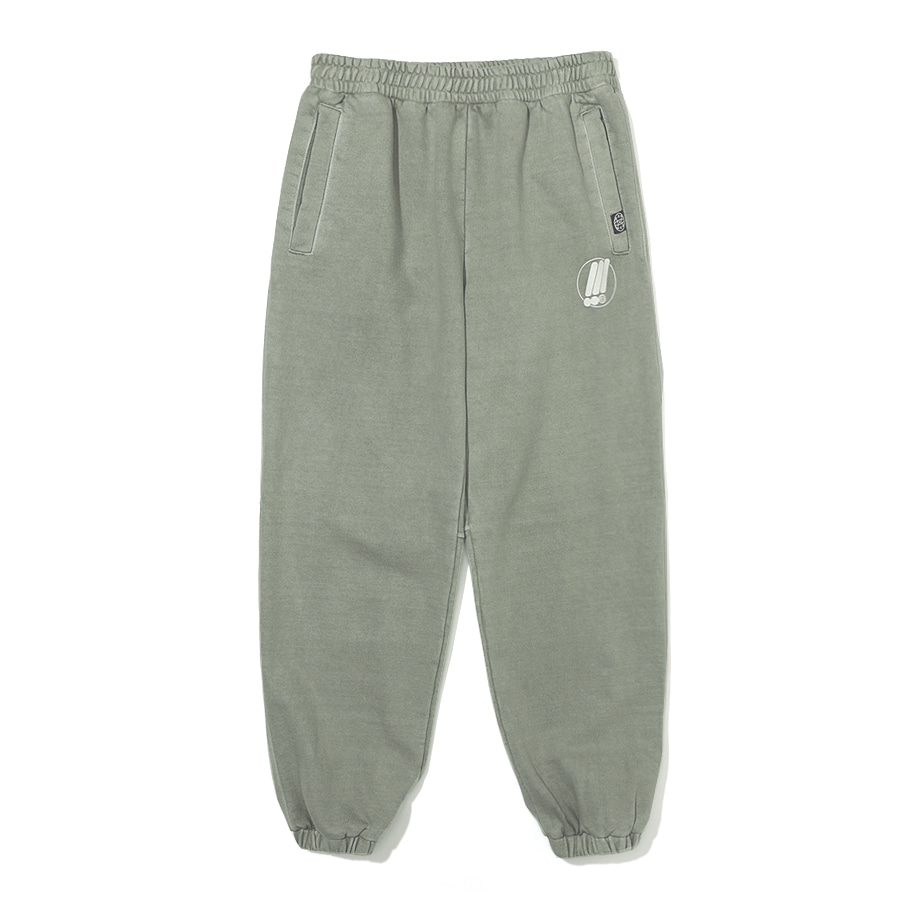 Symbol Pigment Sweat Pants Khaki