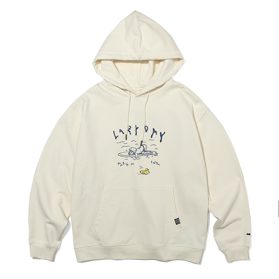Lazy Day Hoodie Ivory