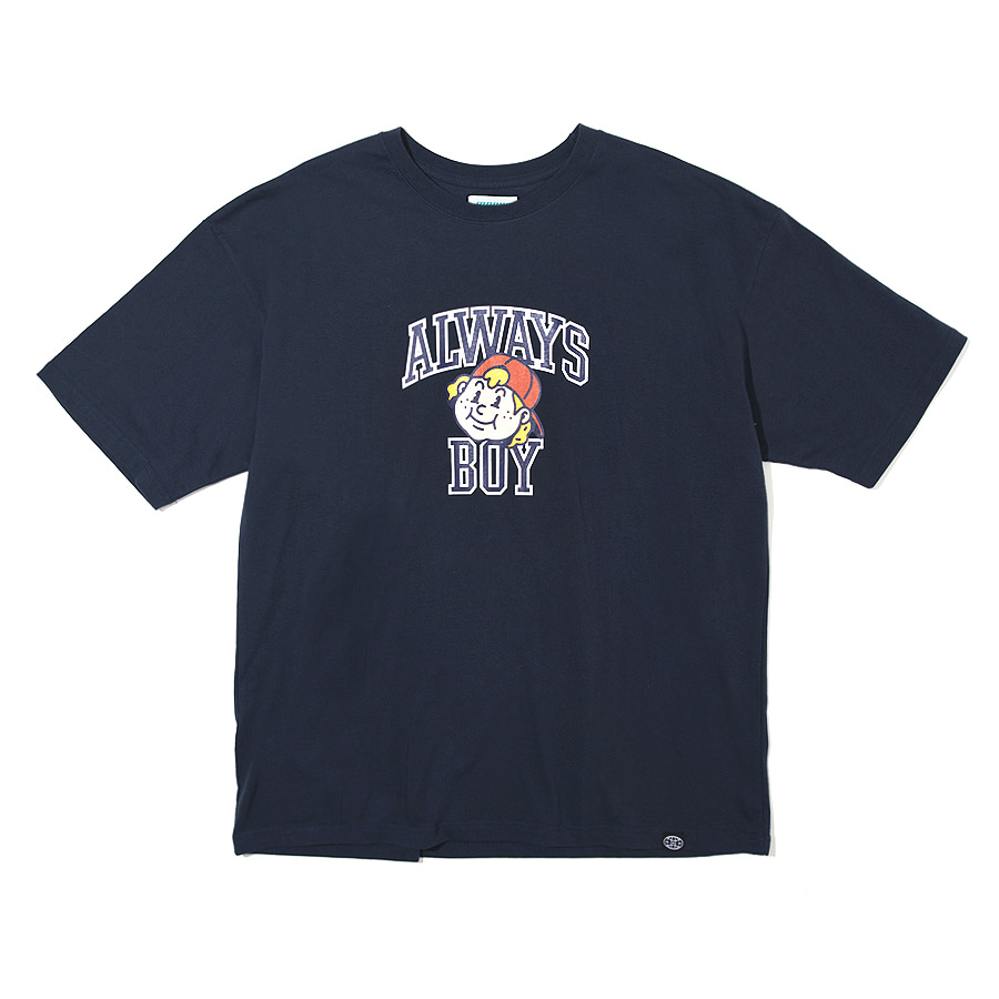 Always Boy T-shirts Navy