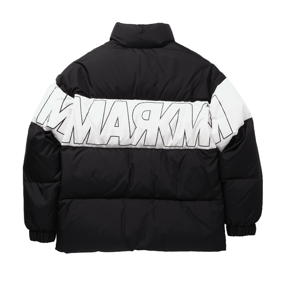 MM DUCKDOWN Color Block Padding BK
