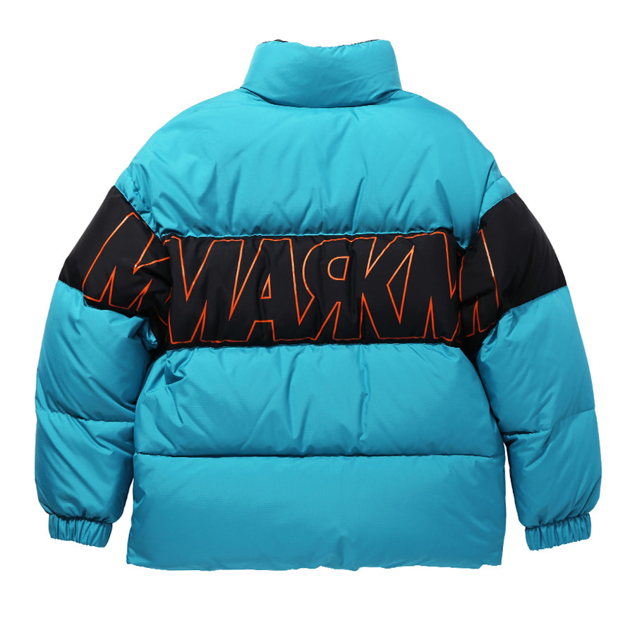 MM DUCKDOWN Color Block Padding GR