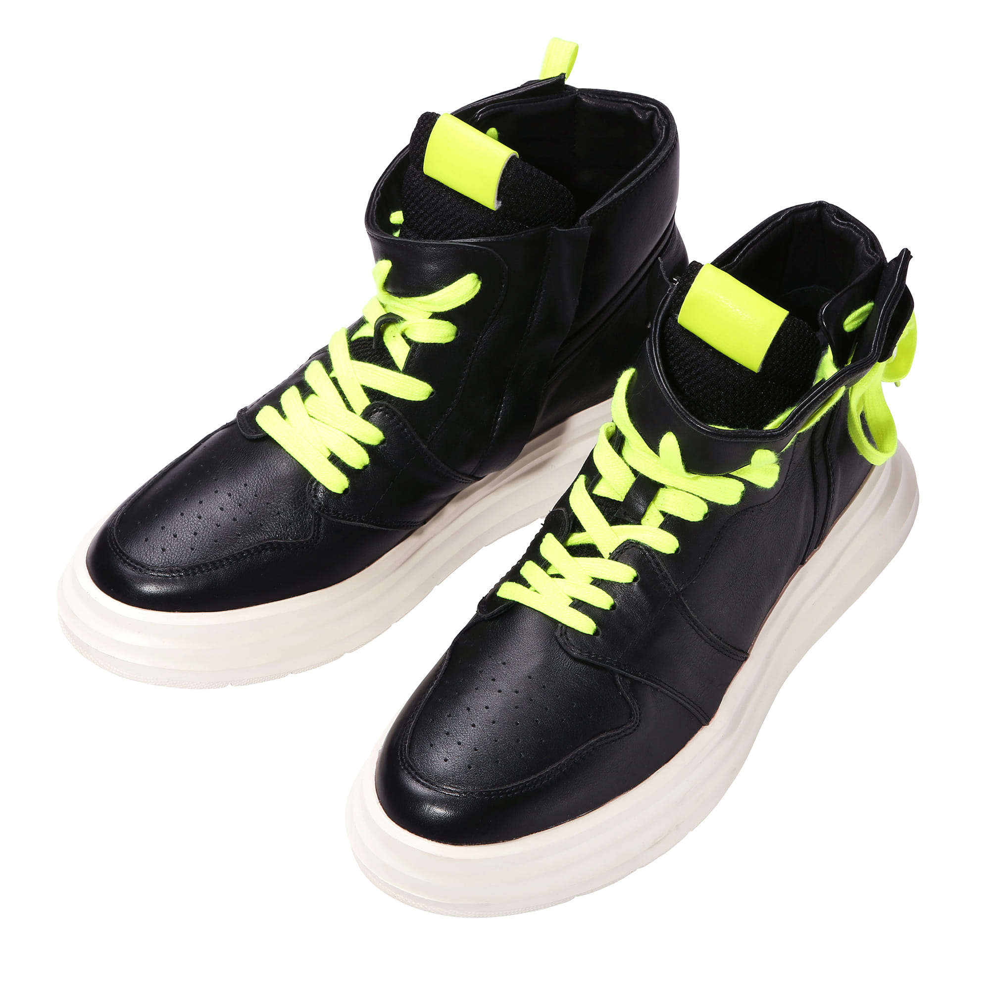 19FW MM High Top sneakers BK MYASH0504