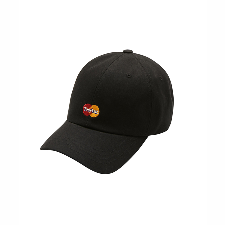 Too Paid 6Panel Cap BK