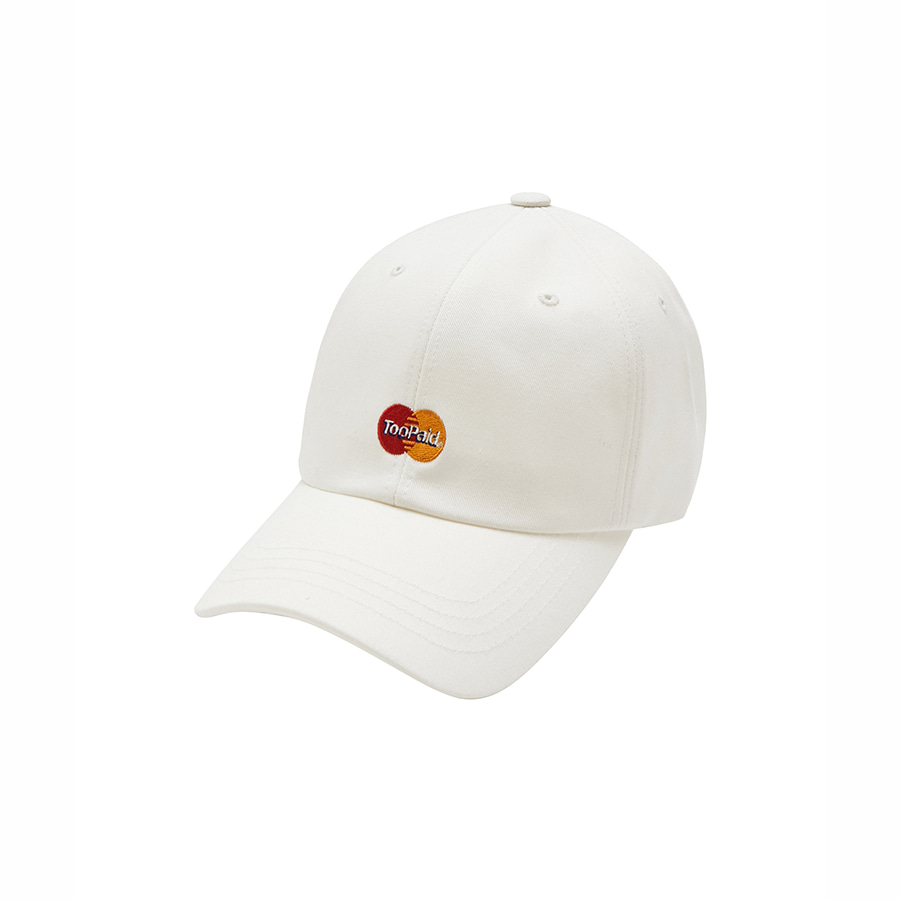 Too Paid 6Panel Cap WH