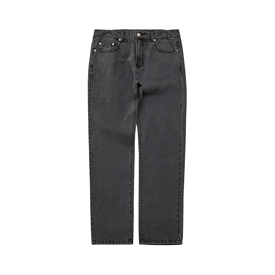 Wide Denim Pants BK