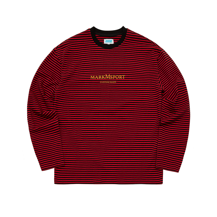 Sports Striped Long Sleeve OR