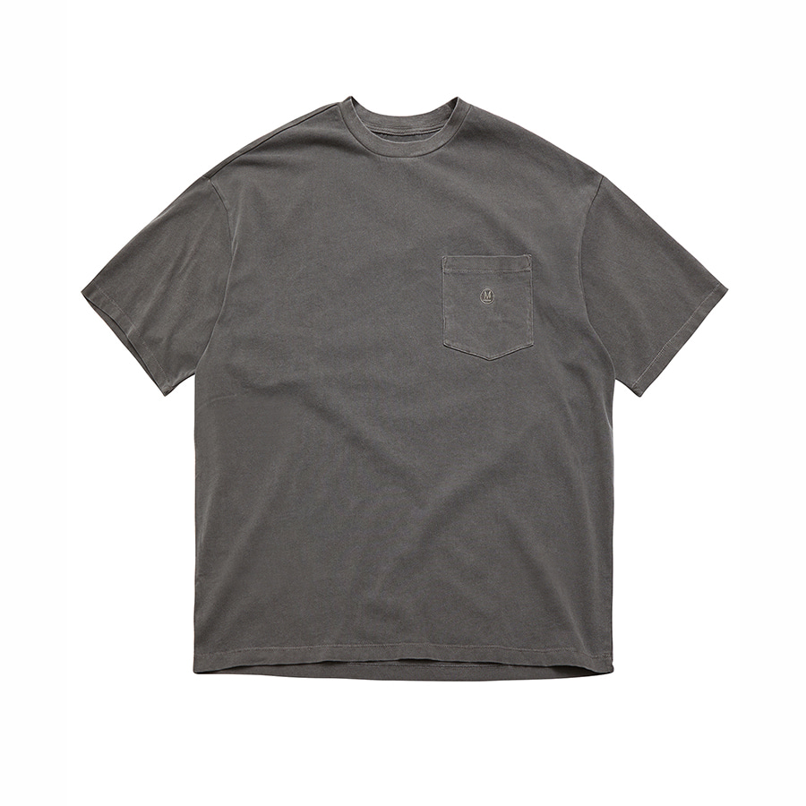 Pigment Dyed Pocket T-Shirts GYC