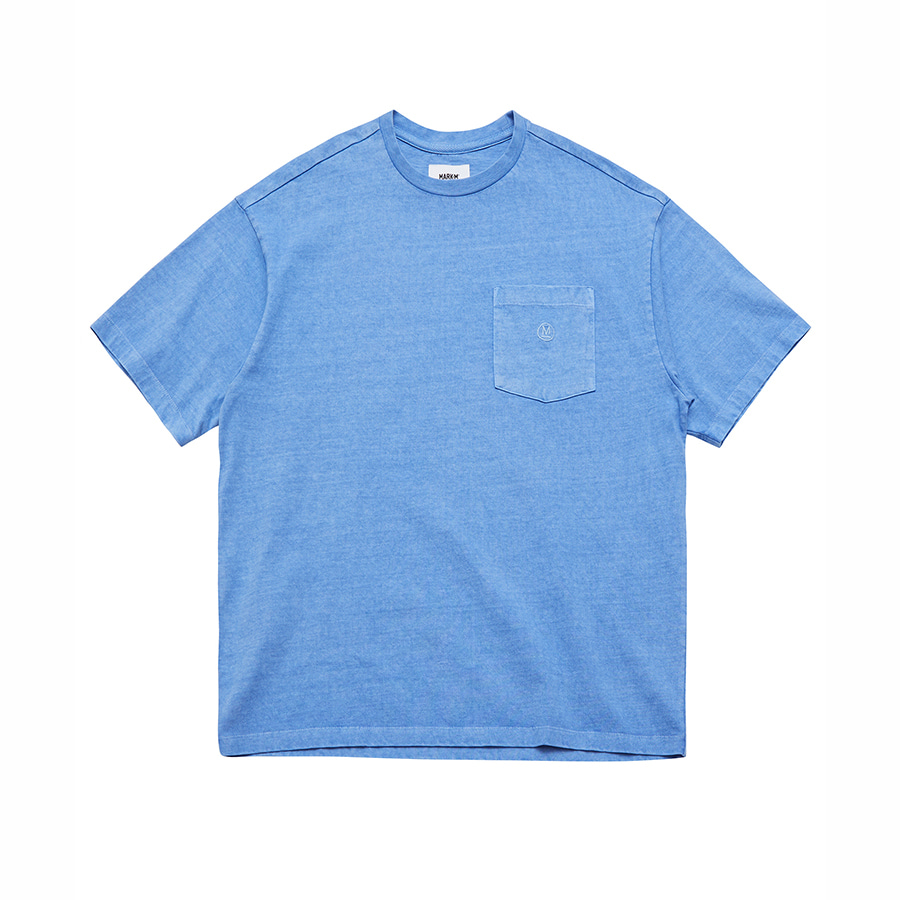 Pigment Dyed Pocket T-Shirts BLM