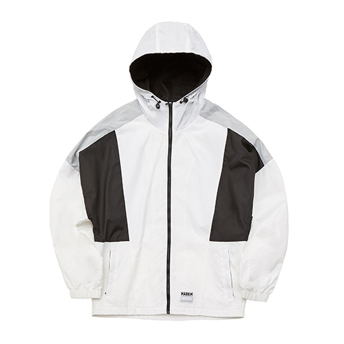Block Wind Jacket WH