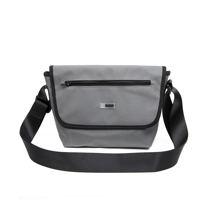 Small Messenger Bag Grey