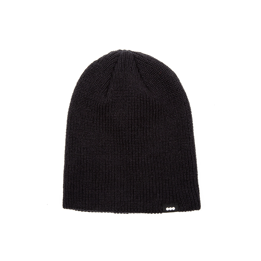 Long Beanie Black