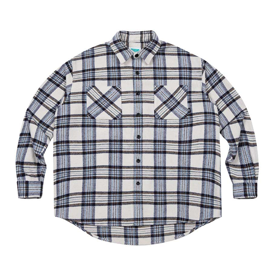 Heavy Check Shirts Ivory