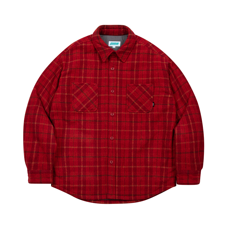 Check Has Shirts Jacket Red