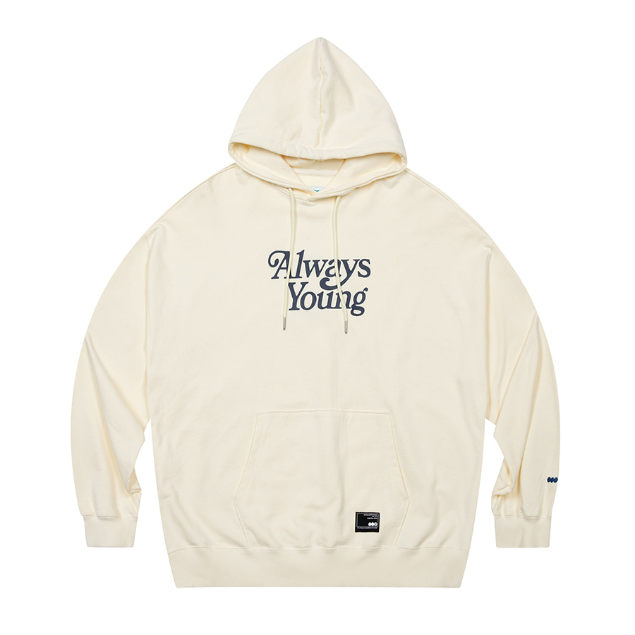 Always Young Hoodie Ivory