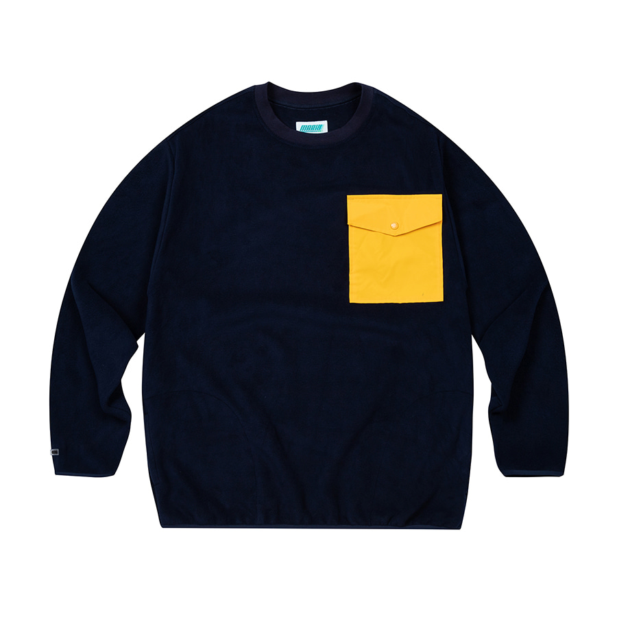 Fleece Crewneck Navy