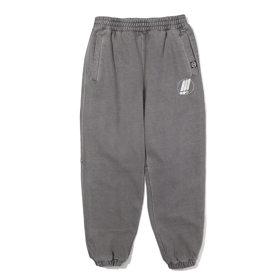 Symbol Pigment Sweat Pants Dark Gray