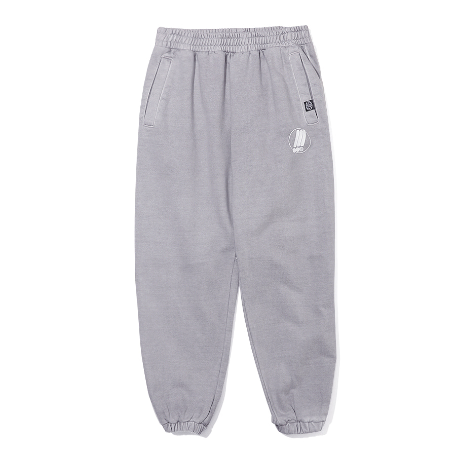 Symbol Pigment Sweat Pants Light Gray