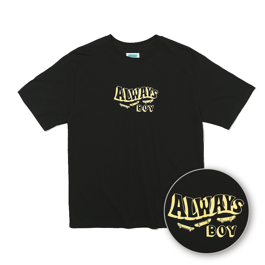 Always SK8 T-Shirts Black