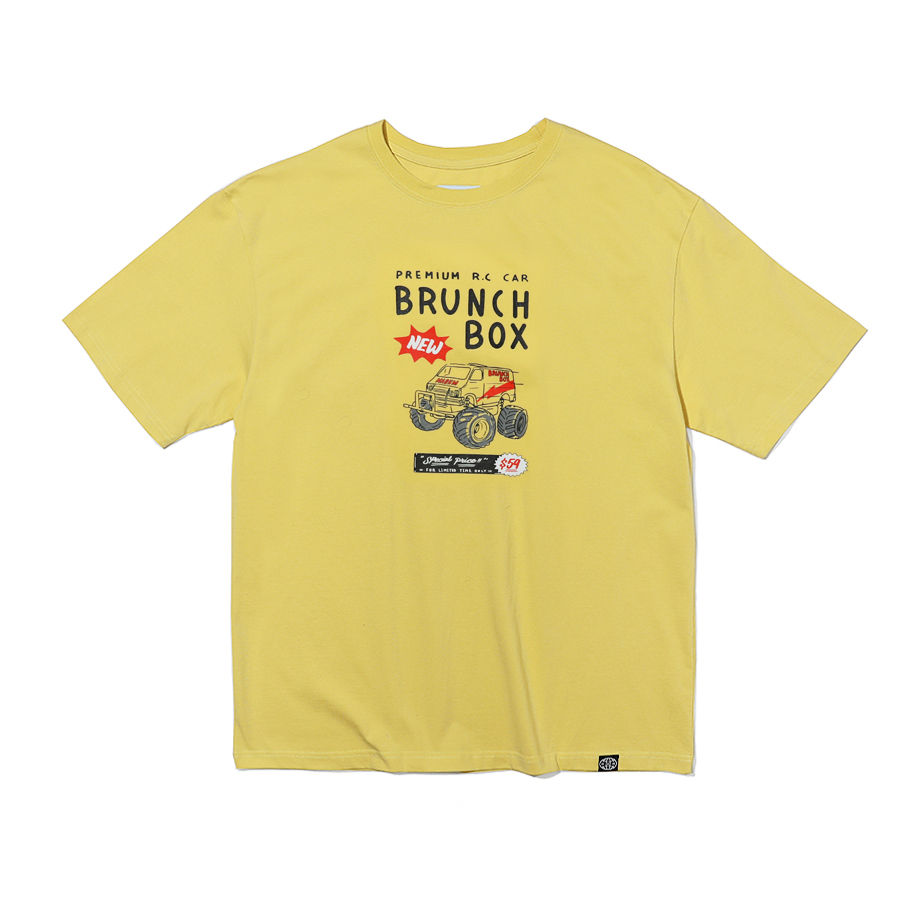 R.C T-Shirts Light Yellow