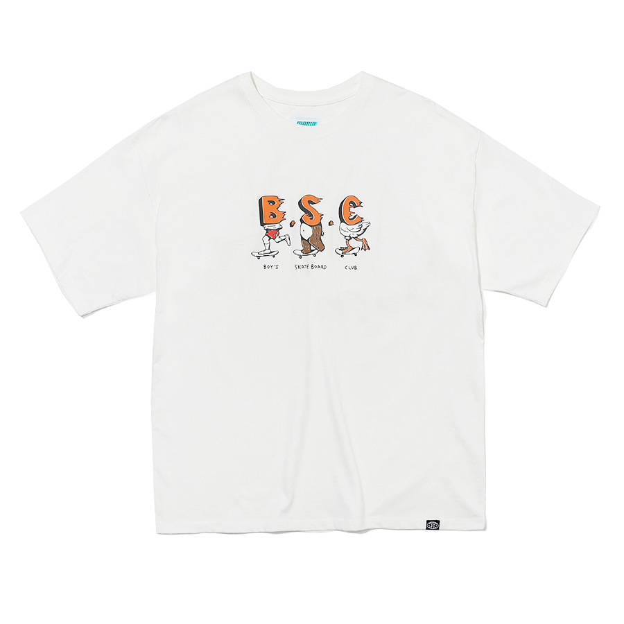BSC T-Shirts Off White