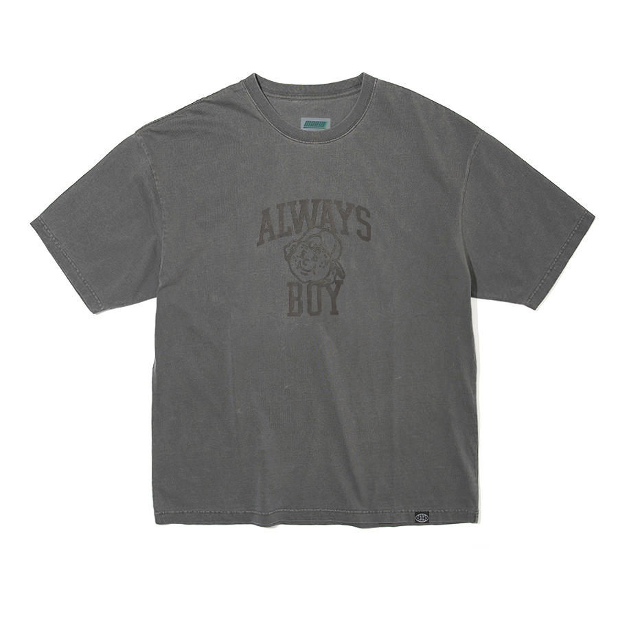 Always Boy Pigment T-shirts Dark Gray